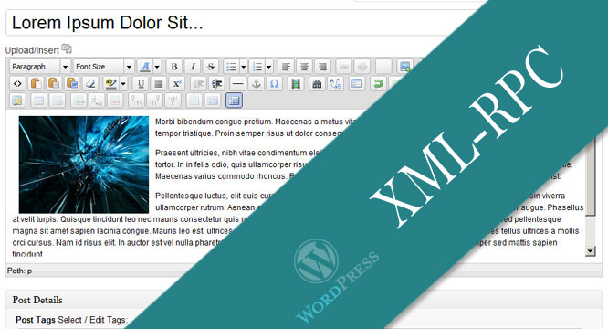 Standalone WordPress XML-RPC Client